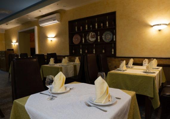 ресторан основной банкетный зал