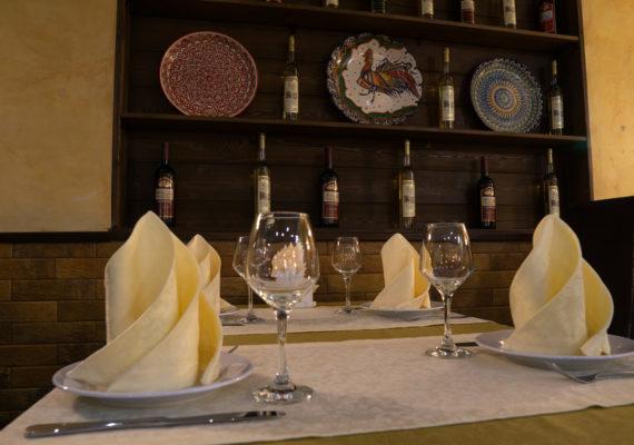 ресторан бакинский дворик зал