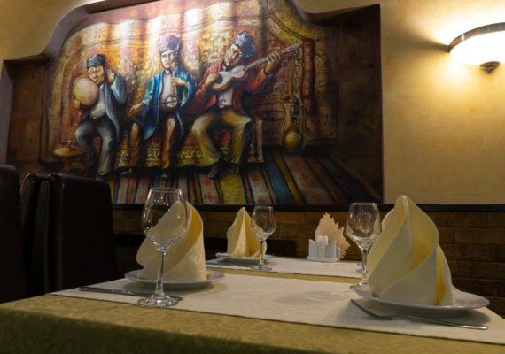 ресторан банкетный зал оформление