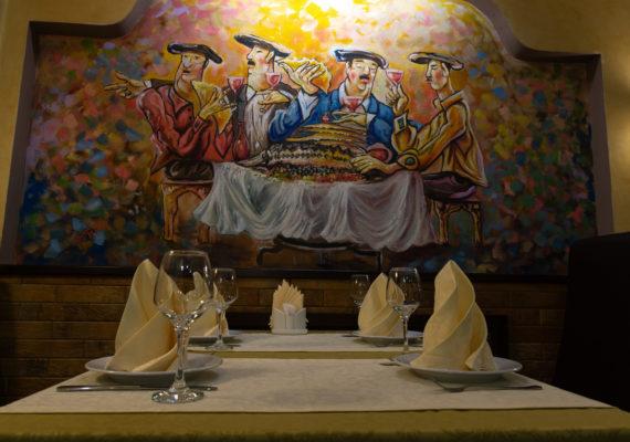 ресторан бакинский дворик