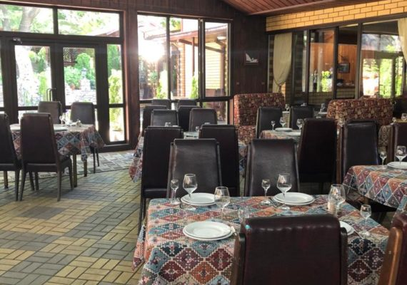 банкет ресторан панорамный зал
