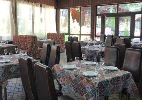 ресторан банкетный зал с панорамой