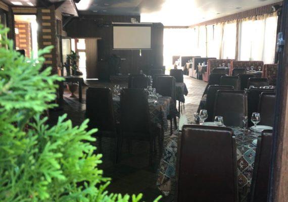 свадьба в ресторане панорама зала
